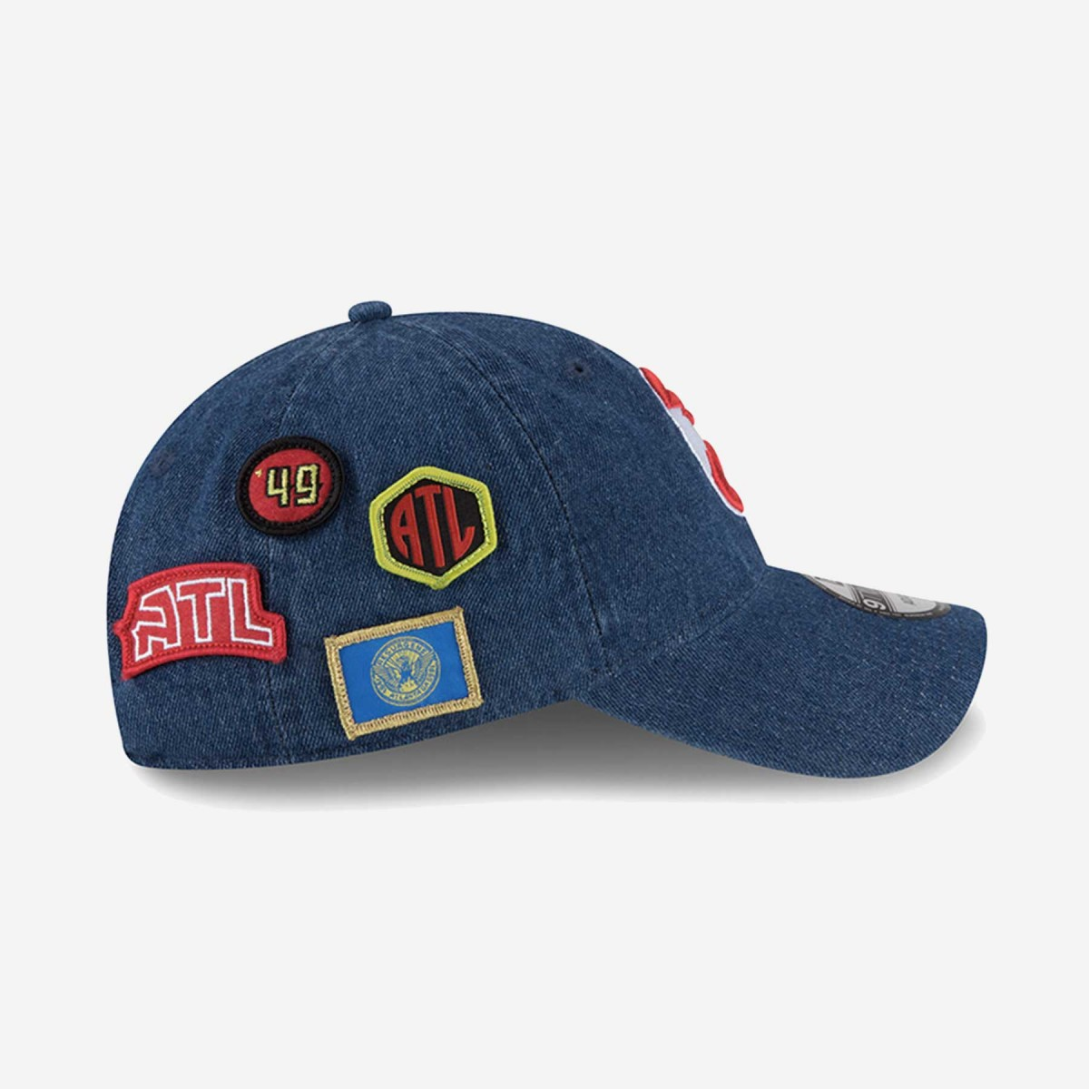New Era Atlanta Hawks NBA Draft 2018 9Twenty Cap 7ec3178610b