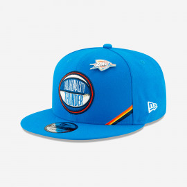 New Era Oklahoma City Thunder NBA Authentics : Draft Series 9FIFTY Snapback